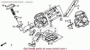 Honda Gl1200 Goldwing 1984  E  Usa Carburetor Comp  Parts