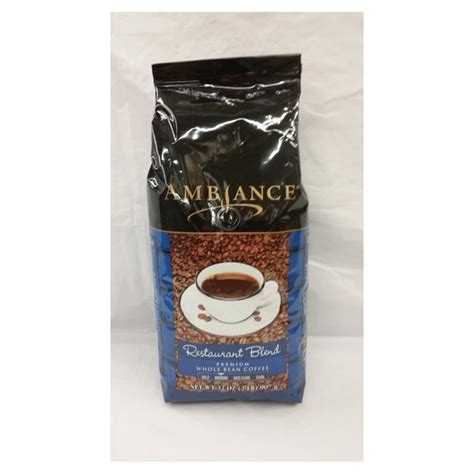 Feel like sitting at a coffee shop with a relaxing drink in front of you, listening to the background noises. Ambiance Restaurant Blend Whole Bean Coffee (32 oz) from Smart & Final - Instacart