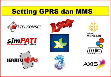 Gprs & mms setting telkomsel. Setting GPRS dan MMS Telkomsel, XL, Indosat, Axis dan 3 | PANDAWA CELL PREMBUN