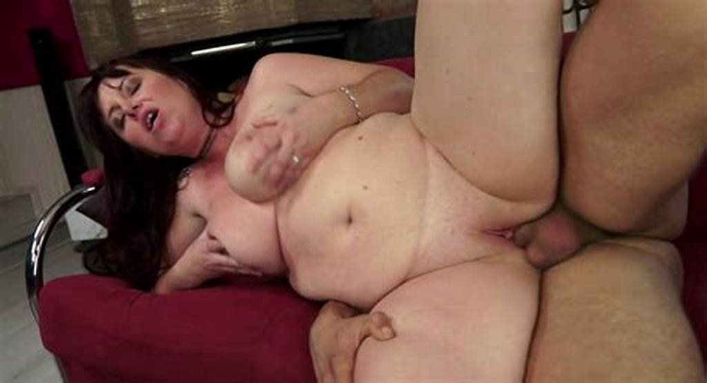 #Chubby #Dark #Haired #Milf #Got #Her #Wet #Kitty #Fucked #From