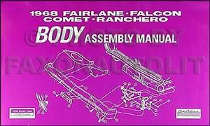 1968 Ford Falcon  Fairlane  Ranchero Mercury Montego Wiring