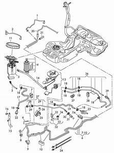 Audi A4 Fuel Hose