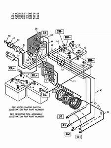 Wiring Diagram For H199 Ezgo Golf Cart