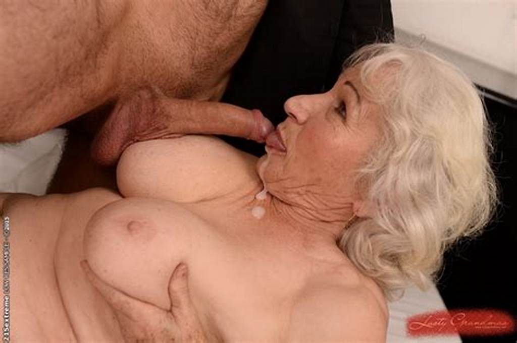 #Grey #Haired #Granny #With #Hairy #Pussy #Gets #Shagged