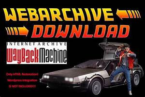 Restore 1 Website From Web Archive Wayback Machine By