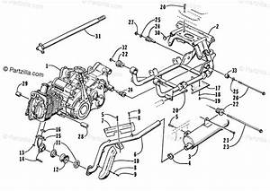 Arctic Cat Atv 1998 Oem Parts Diagram For Engine And