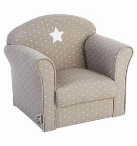 Petit Fauteuil Confortable : petit fauteuil confortable pour enfant coloris taupe le d p t bailleul ~ Teatrodelosmanantiales.com Idées de Décoration