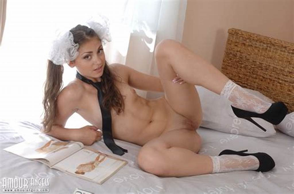 #Delicious #Teen #Cutie #With #Two #Bows #In #Hair #Taking #Off