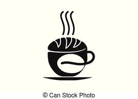See more ideas about coffee cup design, cup design, coffee cups. Coffee bean with wheat logo. coffee and bakery vector on white background 8 eps.