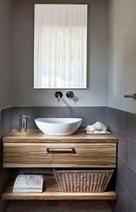 Unterschrank Für Aufsatzwaschbecken Holz : die besten 25 unterschrank waschbecken ideen auf ~ Michelbontemps.com Haus und Dekorationen