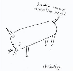 Burrito Unicorn Instruction Manual By Starheadboy