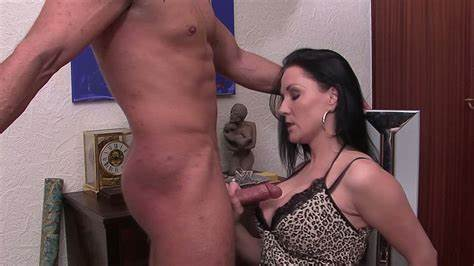 Gorgeous Woman Strokes Dildo And Swallows Ejaculation