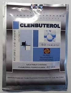 Clenbuterol Hubei 40mcg  50 Tab