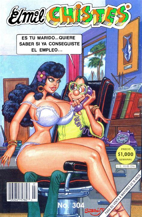 foto de Mexico Comics Adultos: El Mil Chistes (301 al 305)