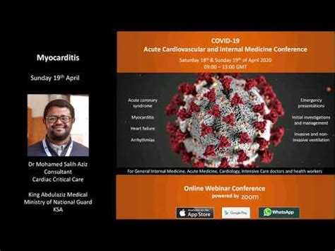 Am j med case rep. MyHeart: Covid ACIM Webinar - 1 | Myocarditis