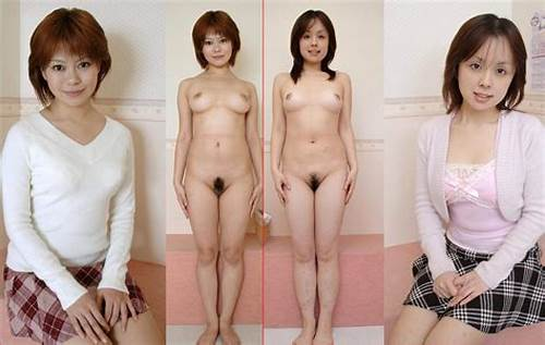 Dressed Undressed Japanese Duo