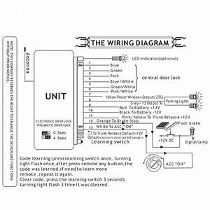 Universal Power Door Lock Wiring Diagram