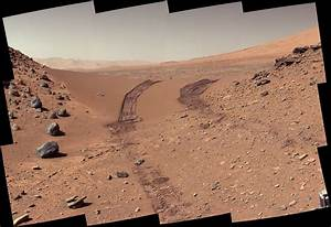Space Images | Curiosity's Color View of Martian Dune ...