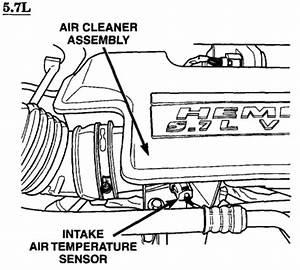 Where Is The Iat  Maf Sensor On A 2003 Dodge Ram 2500 5 7l