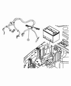 2008 Jeep Wrangler Wiring  Battery