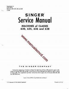 Singer 630