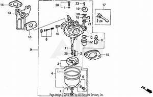 Honda Wdp20xt A Water Pump  Jpn  Vin  Wzbz