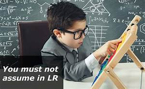 Cat 2016 Study Material  You Must Not Assume In Lr