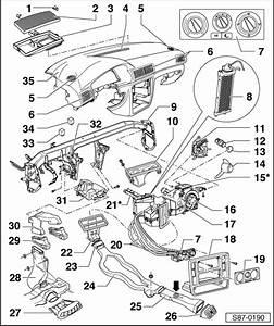 Skoda Workshop Manuals  U0026gt  Superb  U0026gt  Heating  Air