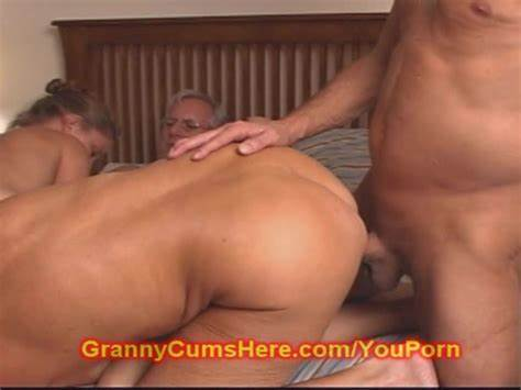 Mature Grandfather Threesome Warm
