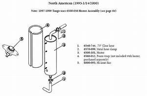 Sundance Spa Bypass Heater  5 5kw  240 Volt