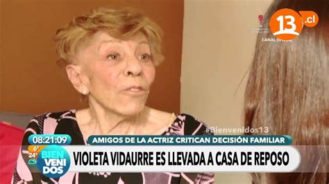 Violeta rosa ester vidaurre heiremans (born 12 september 1928), better known as violeta vidaurre, is a chilean actress with a long television and theater career, with more than 120 characters played since her debut. La historia de Violeta Vidaurre | Bienvenidos - YouTube