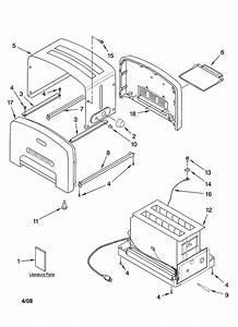 Kitchenaid Kptt780bu1 Toaster Parts
