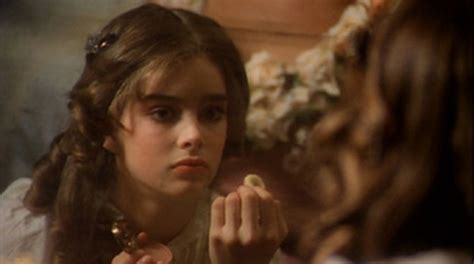 Pretty baby brooke shields rare photo from 1978 film. Reflections On A Pretty Baby - Kitsch-Slapped