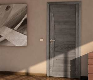 idees portes interieures bois design de maison With porte de garage et porte en bois design