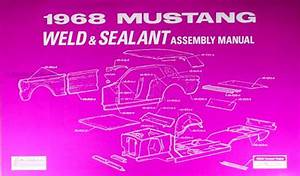 1968 Repair Shop Manual Mustang Fairlane Torino Ranchero