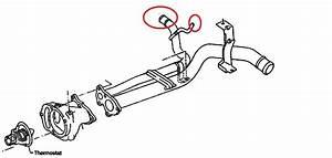 Engine Coolant Leak Behind Intake Manifold On 2000 Nissan