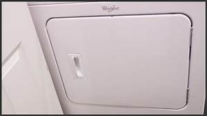 Whirlpool Cabrio Dryer Door Reversal Instructions
