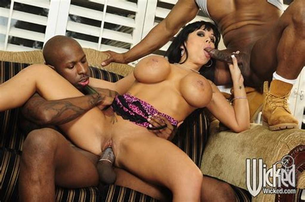 #Hot #Milf #With #Big #Tits #Sienna #West #Sucking #And #Fucking #Two #Black #Dicks
