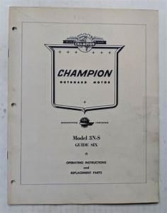 1956 Champion Guide Six 6h P  Model 3n