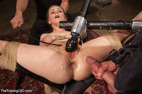 Ffm Blonde Hooker With Machine