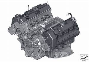 2002 Bmw 745i Sedan E65  Short Engine