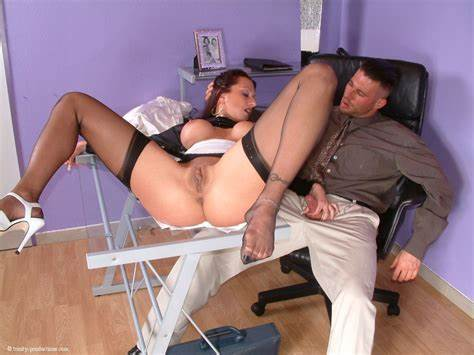 Milfs Woman Fucking On Satin Office Completely Clothed Fuck On Desk
