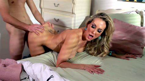 Babe Brandi Love Banged Fucks In A Swing