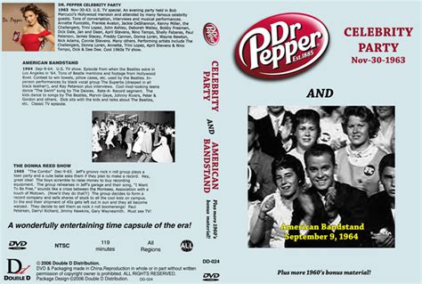 Bandstand performs songs from their new musical at the press preview on march 7th. Dick Clark's Dr. Pepper Celebrity Party / American Bandstand (NTSC disc)
