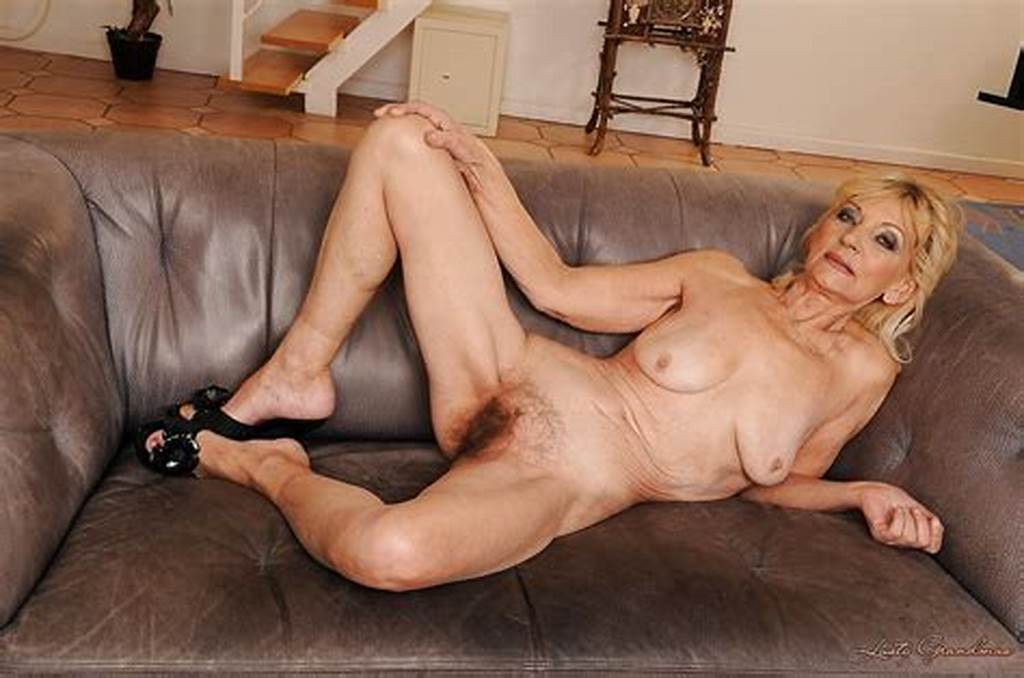 #Skinny #Granny #On #High #Heels #Stripping #And #Showcasing #Her