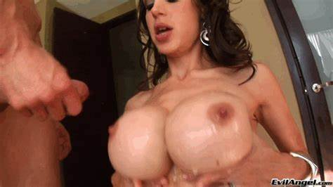 Amazing Curly Shemale Pounding Her Handsome Giant Penetrated Titted Sperm