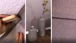 Alternative Zu Tapete : alternative zu tapete setzen sie highlights mit farbigen w nden aus stoff von ado goldkante ~ Watch28wear.com Haus und Dekorationen