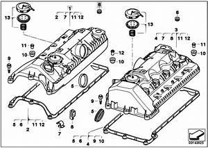 Original Parts For E60 545i N62 Sedan    Engine   Cylinder