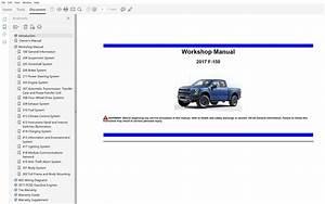2017 Ford F150 Repair Manual
