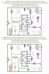 A Dozen Small Cmos Alarm Circuits Circuit Diagram And